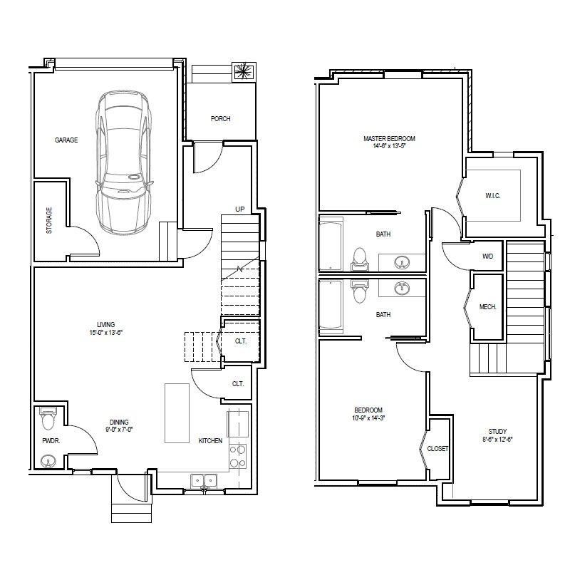 Madrona Apartments Floor Plan C-2