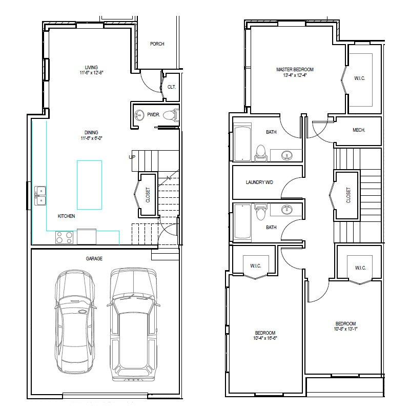 Madrona Apartments Floor Plan E-1