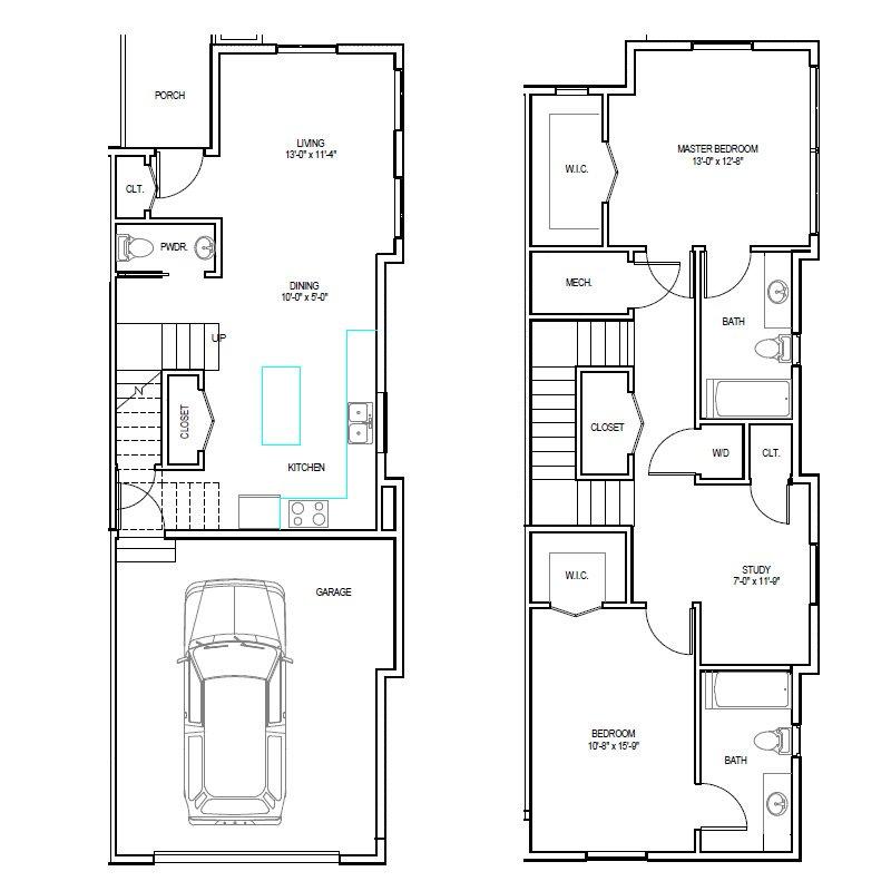 Madrona Apartments Floor Plan E-2
