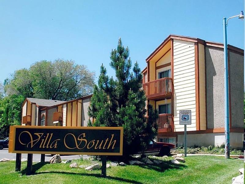 Welcome Sign | Villa South in Ogden, UT