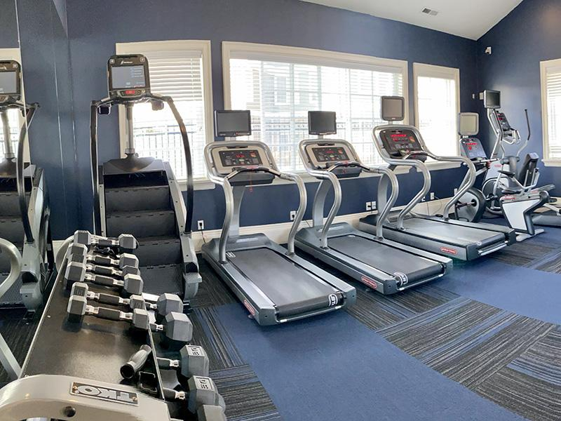 Fitness Center | Riverwalk Apartments