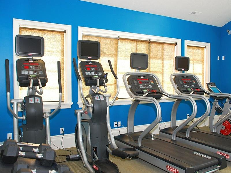 Gym - Apartments in Utah with Fitness Center