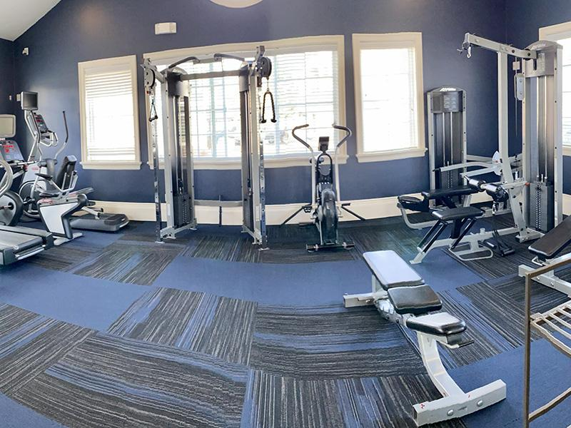 Gym | Riverwalk Apartments