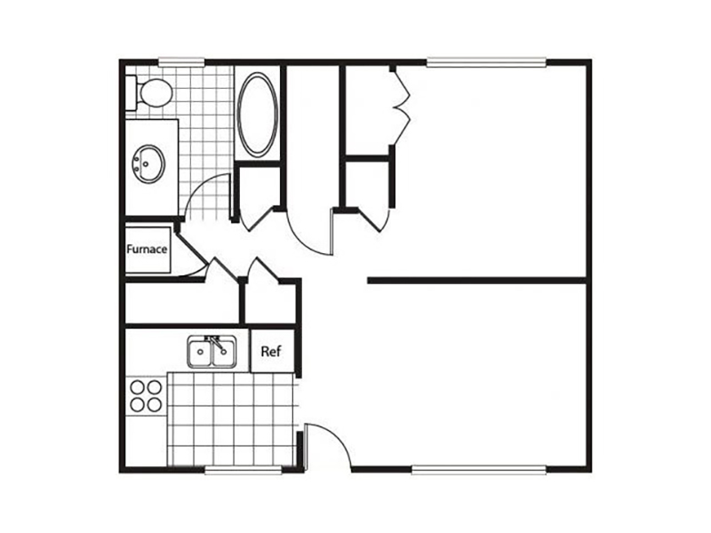 View floor plan image of Chestnut apartment available now