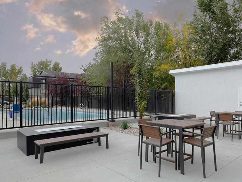 Patio View | The Calaveras Apartments