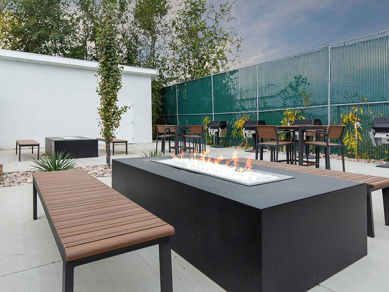 Fire Pit | The Calaveras Apartments