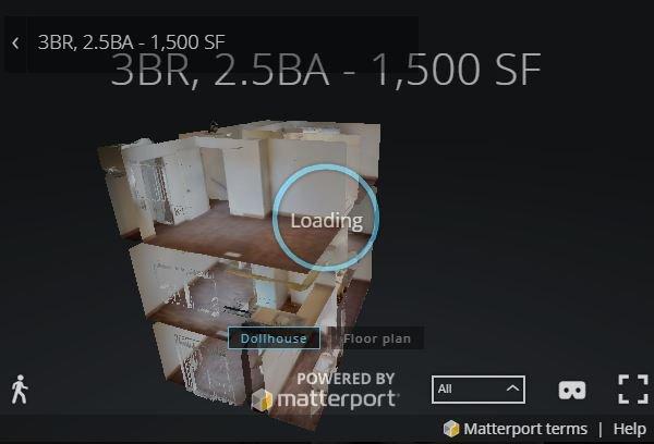 3D Virtual Tour of Townhomes at Mountain Ridge Apartments
