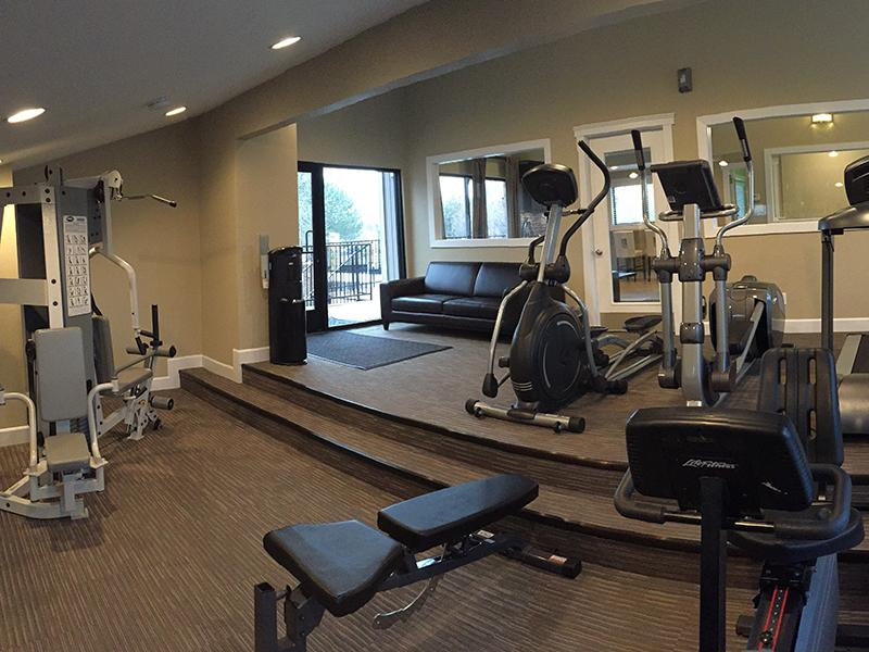 Fitness Center | Apartments with a gym in Murray,