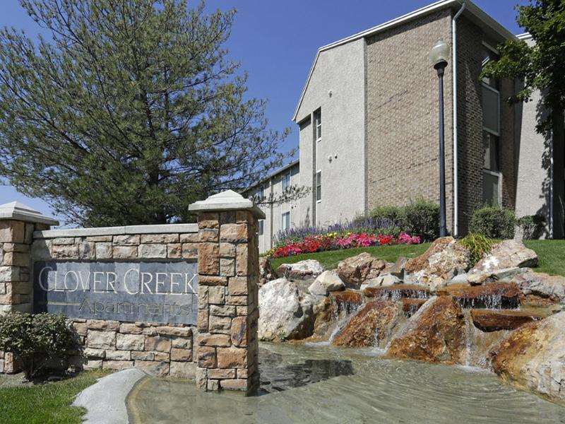 Welcome Sign | Clover Creek Apartments