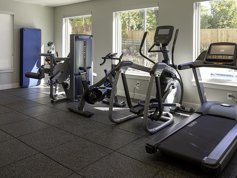 Gym| Haxton Apartments