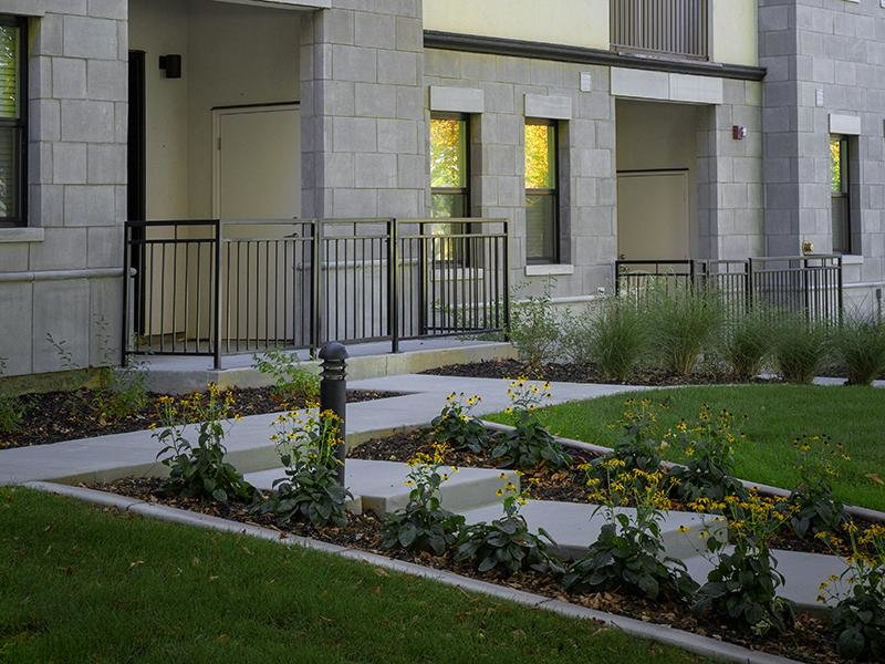 Exterior | Haxton Apartments
