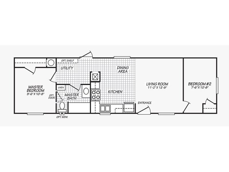 2 Bedroom 1 Bathroom - Premium apartment available today at Targhee Place in Alpine