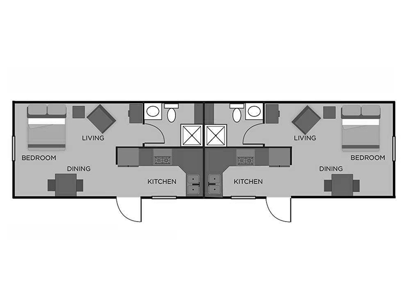 View floor plan image of Studio apartment available now