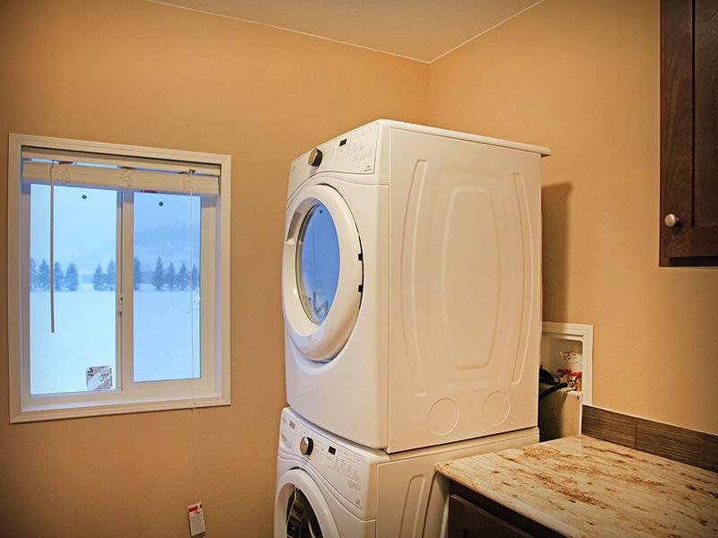 Washer & Dryer | Targhee Place
