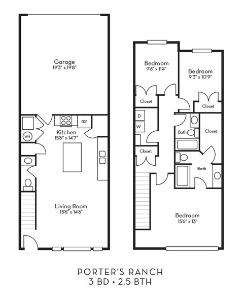 Juniper apartment available today at Porter Ranch Townhomes in Eagle Mountain