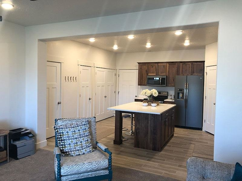 Living Room | Porter Ranch Townhomes