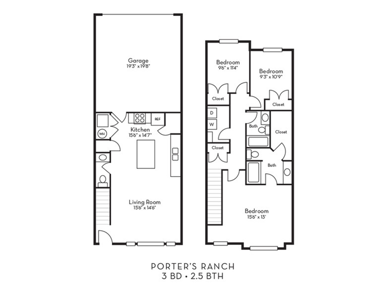 Willow apartment available today at Porter Ranch Townhomes in Eagle Mountain
