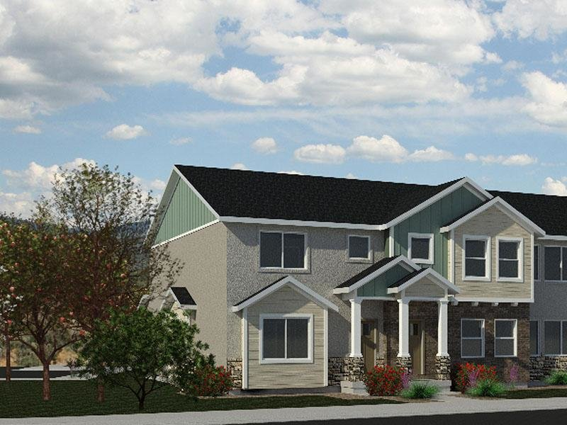 Porter's Ranch Townhomes Rendering