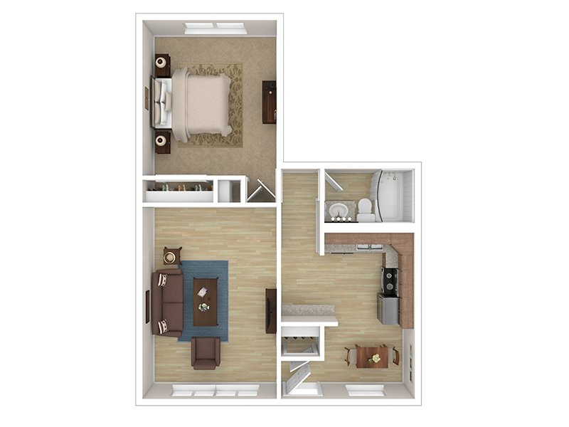 1 Bedroom 1 Bathroom apartment available today at Cascade Ridge UT in Orem