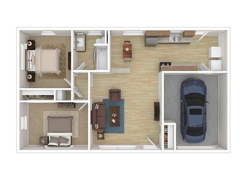 Duplex apartment available today at Cascade Ridge UT in Orem