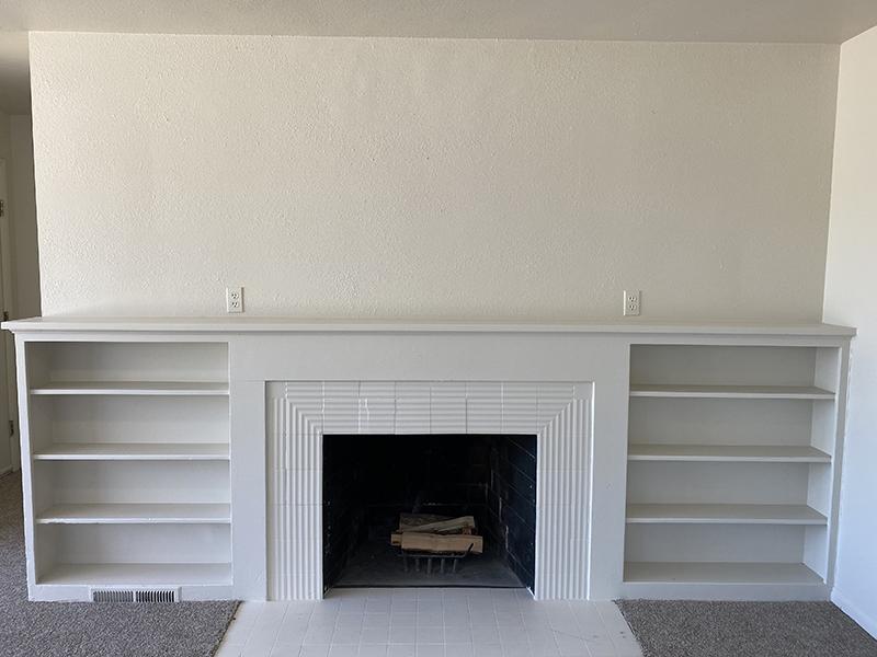 Fireplace | Home | Cascade Ridge Apartments in Orem, UT