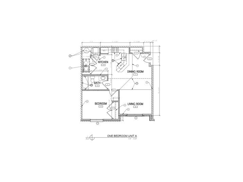 View floor plan image of 1 Bedroom apartment available now