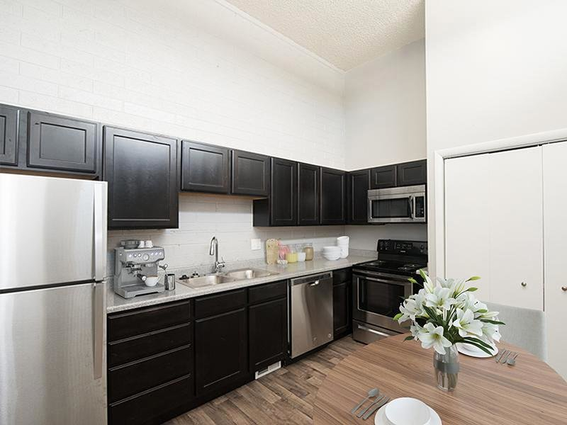 Kitchen - Apartments in West Valley City