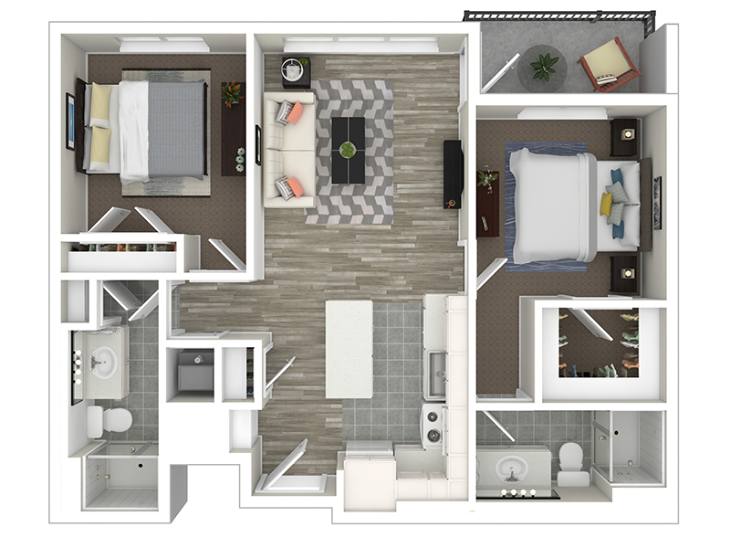 2 Bedroom apartment available today at Lincoln Station in Park City