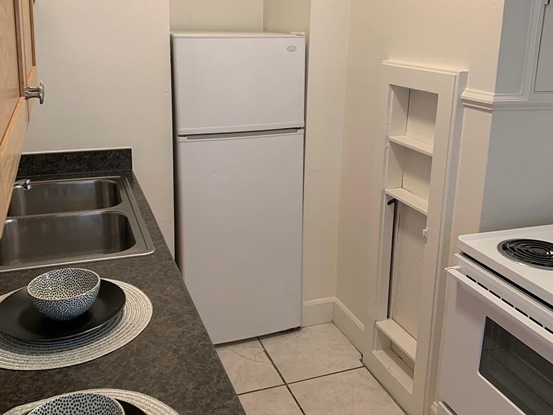 Kitchen | City Line Apartments in SLC