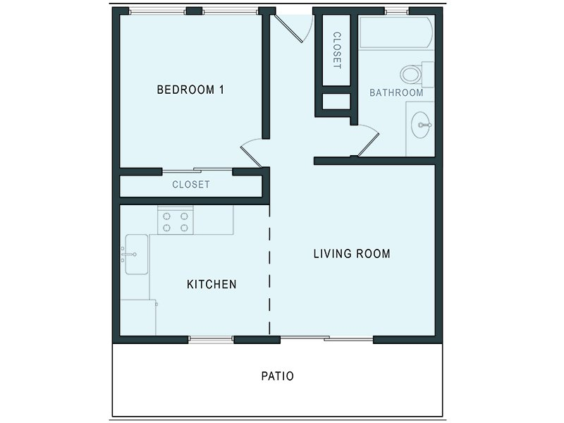 Floor Plan Pricing For Aloha Apartments In Hayward