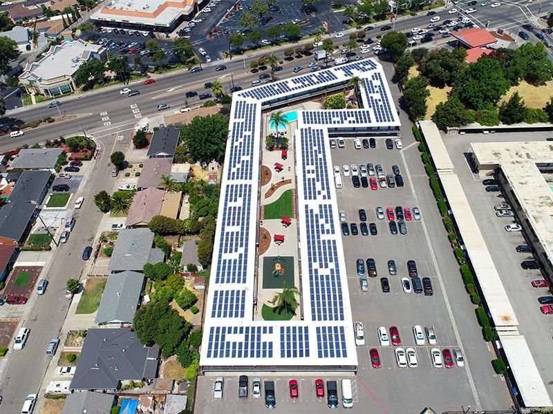 Aerial | Aloha Apartments