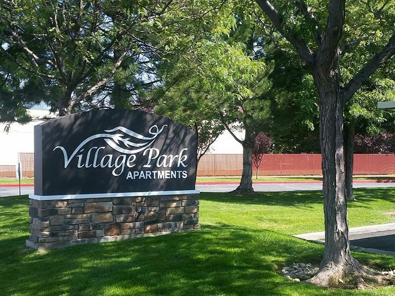Sign | Village Park Apartments