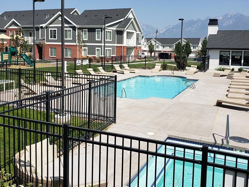 Pool | Meadows at Park Avenue Apartments in Riverton, UT