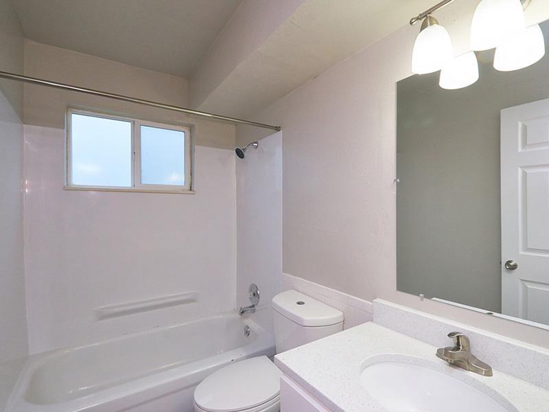 Bathroom | Landing Point Apartments