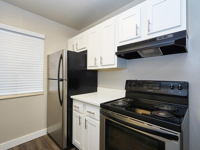 Fully Equipped Kitchen | Landing Point Apartments