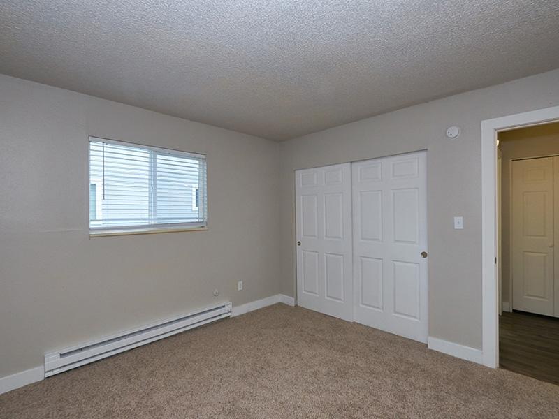 Bedroom | Landing Point Apartments in Salt Lake City, UT