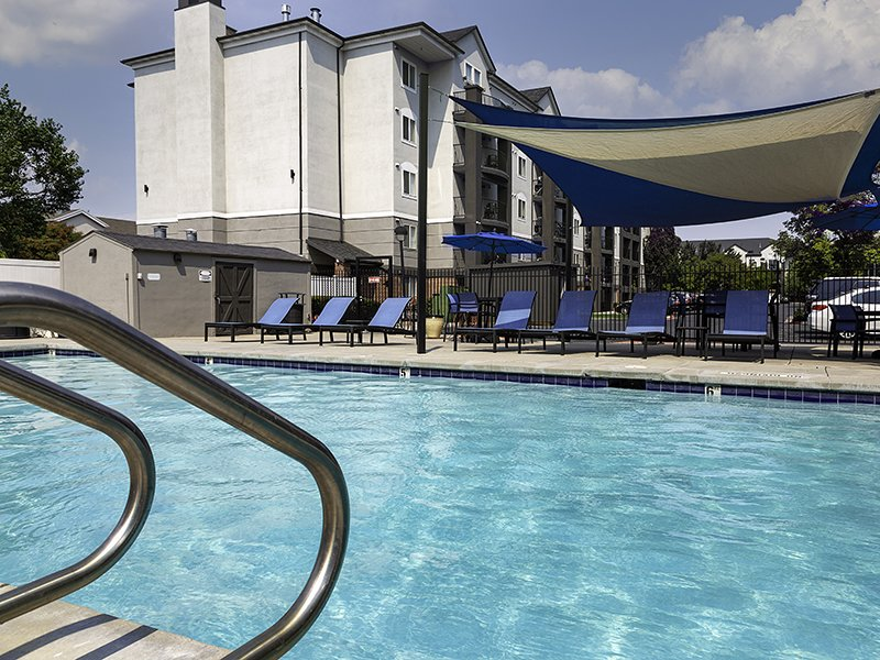 Swimming Pool | Palladio Apartments in Salt Lake City, UT