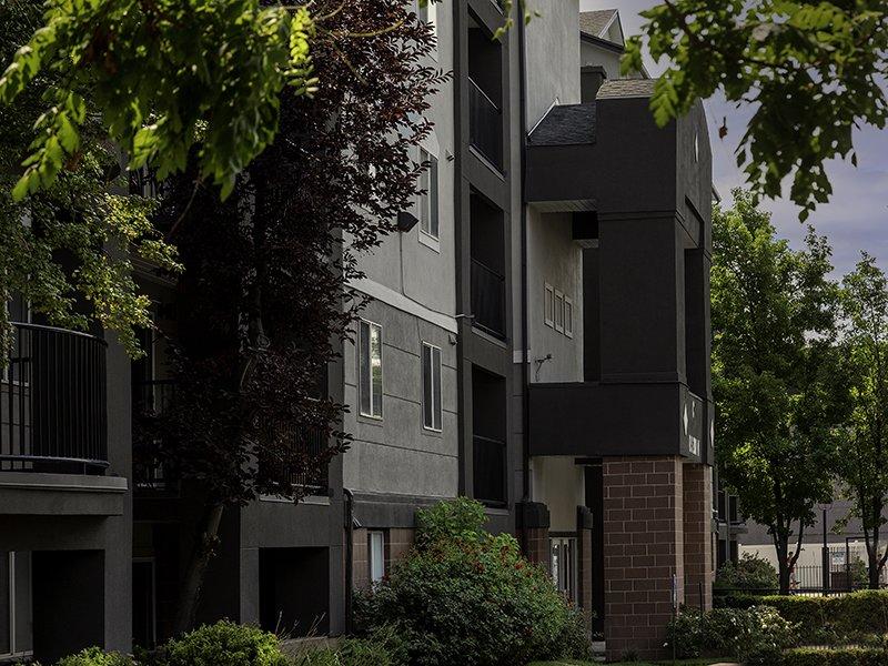 Building Exterior | Palladio Apartments in Salt Lake City, UT