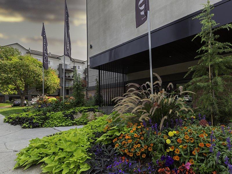 Building Entrance | Palladio Apartments in Salt Lake City, UT