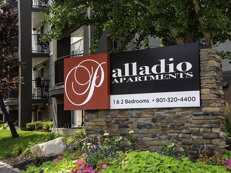 Monument Sign | Palladio Apartments in Salt Lake City, UT