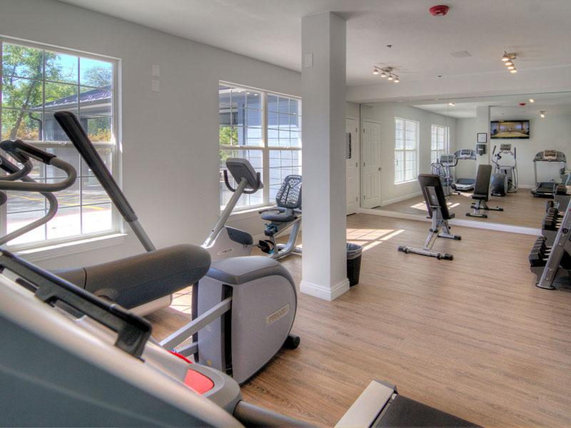 Fitness Center | Braxton at Trolley Square Apartments