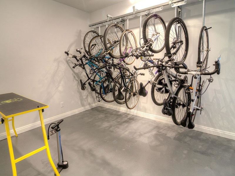 Bike Storage | Braxton at Trolley Square