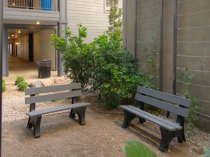 Outdoor Sitting Area | Braxton at Trolley Square Apartments