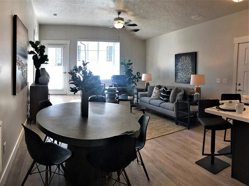 Living Room | Meadows at American Fork