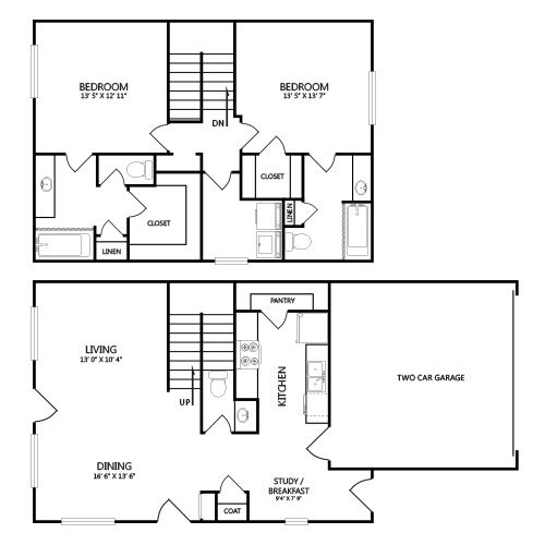 B2 apartment available today at Estates of Coppell in Coppell