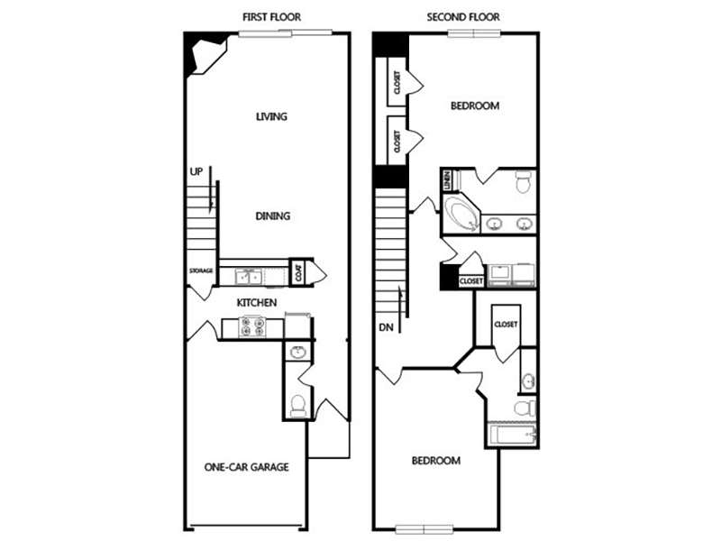 View floor plan image of F apartment available now