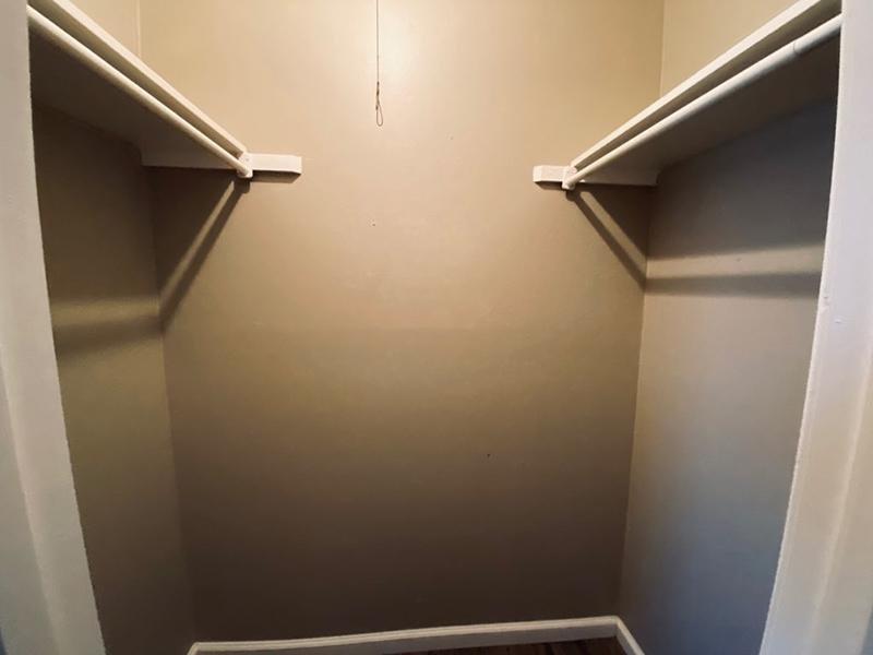 Closet | Cedar Ridge Apartments in Amarillo, TX