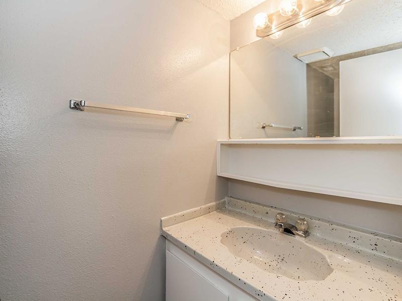 Bathroom  | Cedar Ridge Apartments in Amarillo, TX