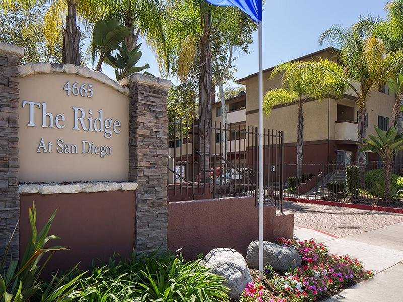 Welcome Sign | The Ridge at San Diego