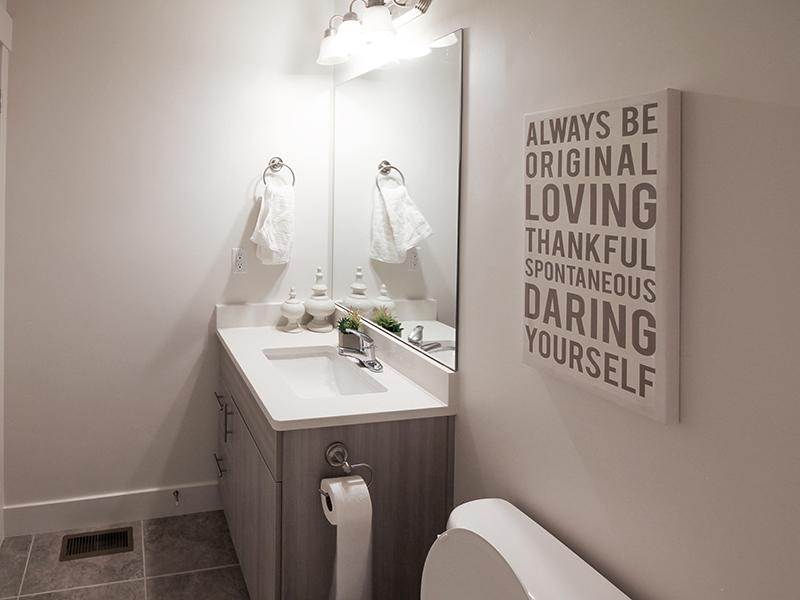 Bathroom | Smithfield Station Townhomes